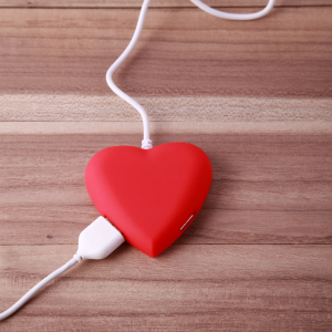 Heart connected into cables